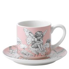 A28452 Candytuft Cup & Saucer #cup #saucer #enesco