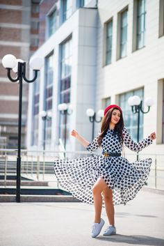 » De ce sunt asa de iubite hainele cu buline?Miu Miu