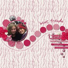 Kit: Besties by Seatrout Scraps at http://store.gingerscraps.net/Besties-by-Seatrout-Scraps.html  Template: Revisited #12 by Scrapping with Liz