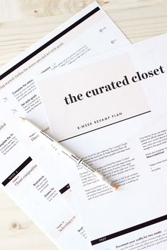 The Curated Closet: Sneak peek + free revamp plan — Anuschka Rees