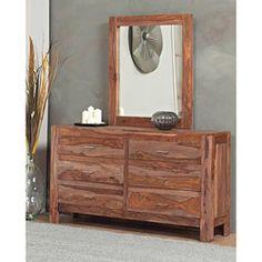 6-drawer Solid Sheesham Dresser | Overstock™ Shopping - Great Deals on Domusindo Dressers