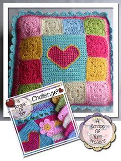 Scrapalicious Cushion PDF Version Creative Crochet Workshop
