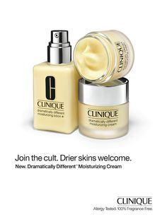 Clinique Skin Care Advertising