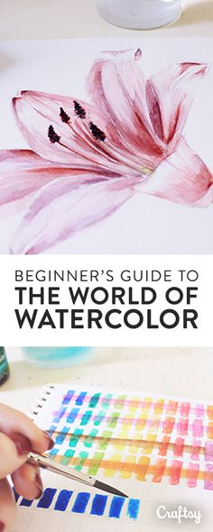 This guide starts your journey into the wonderful world that is watercolor painting. Beginning with the basics, you'll learn how to choose paper and build a color palette. Then, it's time to move on to color study, where you'll discover how to manipulate color transparency, value, intensity and temperature for the radiant, luminous watercolor works you always dreamed of creating!
