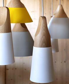 Slope Wooden Lamp By Skrivo Design
