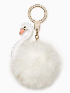 kate spade key fobs swan pouf | kate spade new york(ケイト・スペード ニューヨーク)