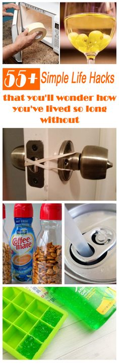 These simple life hacks will make life so much easier. You'll wonder how you lived so long without them.  #lifehacks #diy #protips Simple Life Hacks, Useful Life Hacks, Hacks Diy, Home Hacks, Cleaning Hacks, Baby Hacks, Survival Tips, Survival Skills, Kitchen Hacks