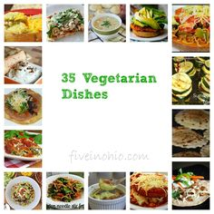 35 Vegetarian Dishes- idk if I will ever be a 100% vegetarian but I need more veggies in my life :)