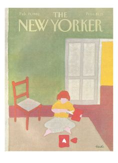 The New Yorker Cover - February 15, 1982 Giclee Print by Heidi Goennel at Art.com