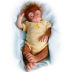 Little Jala Baby Orangutan Doll: So Truly Real - Realistic Baby Dolls