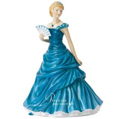 December - Turquoise Birthstone Royal Doulton Figurine   HN 5637   $89.95 Can $74.66 US  