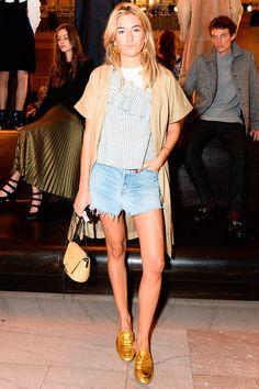 look saia jeans com mule