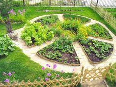 Декоративный огород: как сделать красивые грядки на участке. Обсуждение на LiveInternet - Российский Сервис Онлайн-Дневников