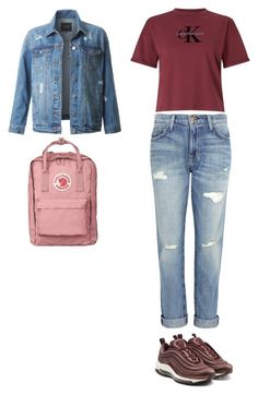 """""""Untitled #137"""" by sarrabaccouch on Polyvore featuring Calvin Klein, Current/Elliott, NIKE and LE3NO"""