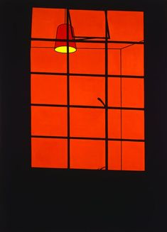 Spectrum : Patrick Caulfield - Window at Night 1969 Excellent exhibition at Tate Britain ends September 1 Pop Art, The Tatami Galaxy, Modern Art, Contemporary Art, Minimal Art, Ligne Claire, A Level Art, Arte Pop, You Draw