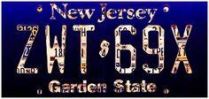 I uploaded new artwork to fineartamerica.com! - 'New Jersey License Plate' - http://fineartamerica.com/featured/new-jersey-license-plate-lanjee-chee.html via @fineartamerica