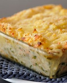 Traditional Fish Pie: The perfect winter warmer.