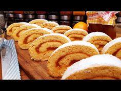 Lekváros piskótatekercs @Szoky konyhája - YouTube Bread, Youtube, Food, Dessert Ideas, Eten, Bakeries, Meals, Breads, Diet