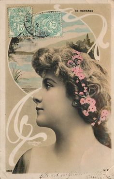De Mornand.  Reutlinger Postcard.  SIP 1289.