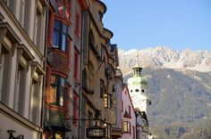 Tyrol and the capital of the Alps, Innsbruck - Backpack Globetrotter Visit Austria, Winter Sports, Alps, Backpack, Street View, Travel, Viajes, Winter Sport, Destinations