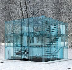 Glass concept home