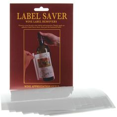 This should be a giveaway at #labels events!! #wine  Label Saver Wine Label Removers