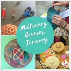 5 day Millinery Summer Schools in January. For beginners and intermediate participants. Link in bio for details. Summer School, Schools, Melbourne, January, Workshop, Detail, Learning, Day, Link