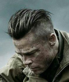 Brad in 'Fury'