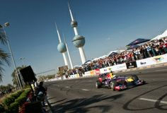 Jak Red Bull jezdil s Carlosem Sainzem v Kuvajtu.