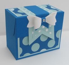 Gift Bag Punch Board - Sweet Little Box