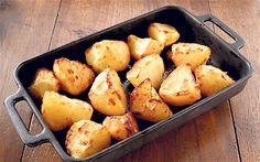 Roux's roast potatoes in goose at recipe