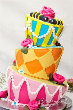 Wedding Cake - Alice in Wonderland Mad Hatter