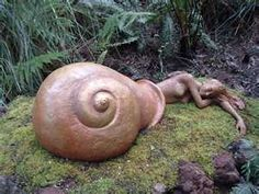 Snail Goddess art