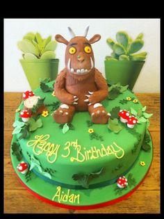 Gruffalo birthday cake Helen Stephenson