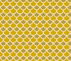 fish_scales_autumn fabric by holli_zollinger on Spoonflower - custom fabric