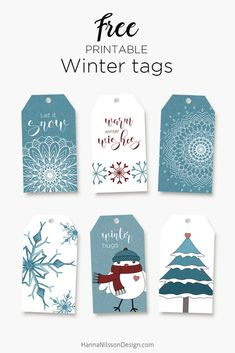 Winter Printables - free tags, cards and boxes to print at home . - Winter printables – free tags, cards and boxes to print at home – special gifts - Christmas Tags Printable, Free Printable Tags, Free Printables, Snowflake Printables, Freebies Printable, Noel Christmas, Christmas Crafts, Winter Christmas, Christmas Tables
