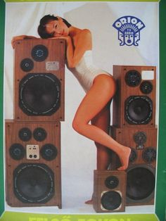 Old Advertisements, Advertising, Radios, Old School Radio, Big Speakers, Old Computers, Record Players, Hifi Audio, Audio Equipment