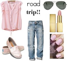 """Road Trip!"" by makeupobsessedmom on Polyvore"