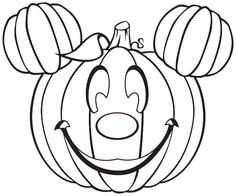 Funny Pumpkin For Halloween Coloring Pages   Kids Coloring Pages   Coloring  Pictures   Colouring Pages