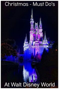 Christmas at Disney World - Must Do's - Travel With The Magic | Travel Agent | Disney Vacation