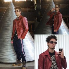 Brad Pitt Fight Club Leather Jacket Size 40 Jonathan A Logan | Clothing, Shoes & Accessories, Men's Clothing, Coats & Jackets | eBay!  #Fightclubjacket #fightubleatherjacket #tylerdurden #tylerdurdenjacket #fightclub #davidfincher #fightclubjacketforsale #jonathanalogan #jonathanlogan #jonathanalogonfightubjacket #moviejackets #iamjacks #tylerdurdenlives #90smovies #movies #filmjackets #fightclubcosplay #tylerdurdencosplay #cosplayers #cosplay
