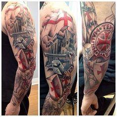 english knight tattoo - Google Search