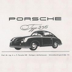 Porsche 356 Ad #porsche