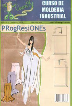 Mujeres y alfileres: Molderia industrial - Faldas. Progresiones