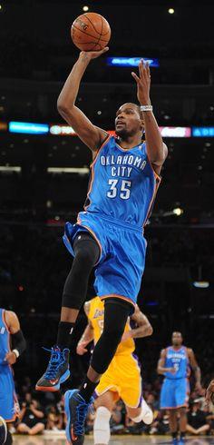 KD =)  Thunder at Lakers: Jan. 11, 2013