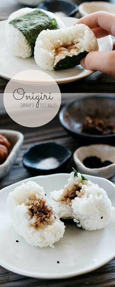 Japanese rice balls Onigiri                                                                                                                                                     More