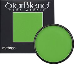 buy now   $10.88     (adsbygoogle = window.adsbygoogle    []).push();   MEHRON STARBLEND CAKE MAKEUP – GREEN     StarBlend Cake Makeup is a highly pigmented pressed powder that can be used wet or dry. This essential powder makeup transforms imagination into reality. The full...
