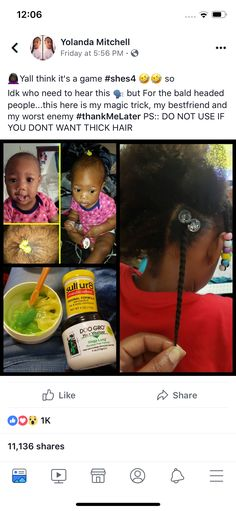 Pin: Babygirl_petty Tips on healthy hair 🌸 Natural Hair Growth Tips, Natural Hair Regimen, Natural Hair Styles, Natural Hair Products, Healthy Hair Growth, Natural Hair Journey, Relaxed Hair Growth, Products For Hair Growth, Kids Natural Hair