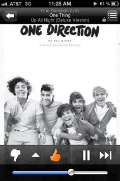 """Day 12, A Song by a Band you Hate: One Thing. No offense to """"1D"""" fans. Just not feeling it."""