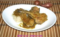 Coniglio al curry http://blog.giallozafferano.it/magnaconme/coniglio-curry/
